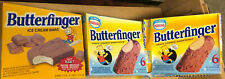 Lot of 3 Simpsons Butterfinger Ice Cream Bar Cardboard Cartons - Vintage