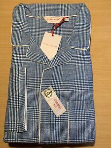 """Mens Derek Rose Modern Fit Brushed Cotton Pyjamas Medium/40"""""""