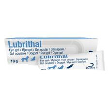 More details for lubrithal eye gel for cats and dogs moisturising lubricating fluid 10g tube
