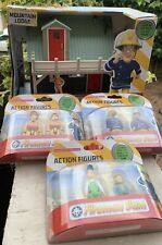 Fireman Sam Play Set - Mountain Rescue Lodge & 3 Packs Of figures! NEW!