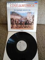 """El Wild West II Soundtrack LP vinyl Vinyl 12 """" 1987 VG + London"""