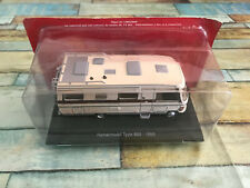 Voiture Miniature Camping Car Mercedes Hymermobil Type 650 1985 Hachette 1/43