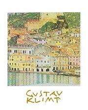 Gustav Klimt Malcesine Poster Kunstdruck Bild 30x24cm
