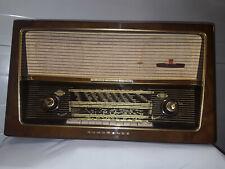 radio röhrenradio antigua nordmende othello t.nr.u320 valvulas