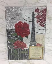 Punch Studio Photo Album Storage Box Eiffel Tower Paris Theme