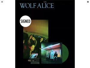 WOLF ALICE-BLUE WEEKEND-GREEN VINYL LP+SIGNED POSTER+CD+CASSETTE-PRE-ORDER-M/SLD