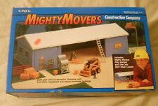 Ertl Farm Country Toy Mighty Movers Construction Co Machine Shed Set MIP 1/64!!
