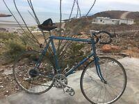 Vintage UNIVEGA blue Road/Racing Bike! Quality Components Made in JAPAN!