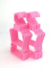 Pack of 10 Pink Display Hangers for 18'' American Girl Dolls New