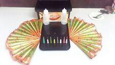 30 Red Mirchi Henna Cones+Applicator Temporary Tattoo kit body ink Herbal mehndi