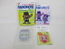 Nano Nota Game Boy Buen Estado Nintendo Importado Japón Aca GB