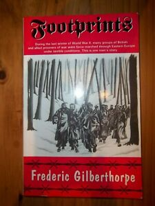 Footprints Signed By Frederic Gilberthorpe p/b book 1993
