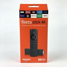 Amazon Fire TV Stick 4K - 2nd Generation with Alexa Voice Remote **TESTED**