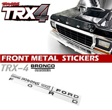 Ford Bronco Metal Decal Sticker Traxxas TRX4 D110 RC4WD D90 1/10 scale