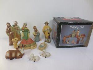 10 Piece Nativity Set Christmas D14
