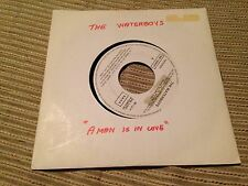 "WATERBOYS SPANISH 7"" SINGLE SPAIN SAME SIDED - A MAN IS IN LOVE"