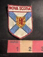 Vintage As-Is-Dirty NOVA SCOTIA Canada Shield Patch 99V8