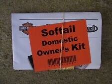 2008 Harley Davidson + Buell Motorcycle Softail Domestic Owner Kit Riding Tips L