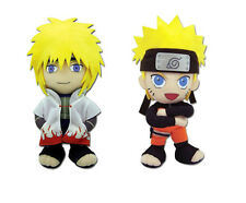 New Set of 2 Great Eastern Naruto Shippuden Plush - 4th Hokage Minato & Naruto