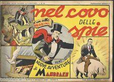 MANDRAKE (THE MAGICIAN)COVO DELLE SPIE -collana grandi avventure 64-NERBINI 1948