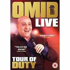 Omid Djalili Tour Of Duty NEW SEALED DVD