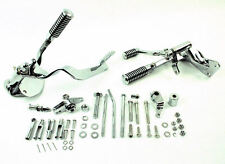 Chrome Forward Controls Control Kit Footpegs Foot Pegs 91-03 Harley Sportster XL