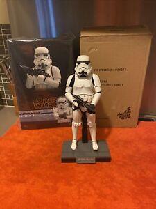 Star Wars Hot Toys Stormtrooper ROTJ MM514 Like New