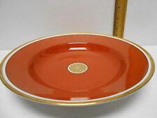 "Fitz & Floyd Medaillon  D'Or  Rim Soup Bowl 9 1/4"""