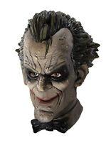 Deluxe Mens Joker Halloween Dark Knight Batman Mask