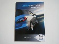 2013 MAZDA MAZDA5 MAZDA 5 SMART START GUIDE OWNERS MANUAL SUPPLEMENT BOOKLET