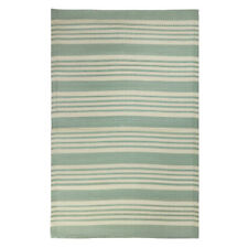 Mint Rug Striped Recycled Plastic by Ib Laursen 180x120 cm/ Outdoor Area Rug