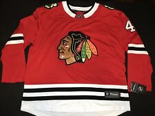 Chicago Blackhawks Red Jersey #4 Grassfather By Fanatics New With Original Tag!