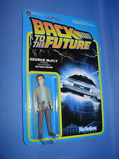 """GEORGE McFLY  BACK TO THE FUTURE  Funko ReAction 3.75""""  FIGURE"""