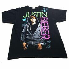 Justin Bieber Concert Souvenir Shirt Size Large