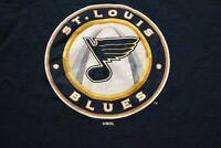 Vintage St. Louis Blues Long Sleeve T-Shirt S NHL Hockey 3rd Jersey Logo Antiqua