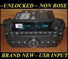 NEW Unlocked 09-2014 Chevy TAHOE Silverado W/T GMC SIERRA CD Radio USB/Aux Input