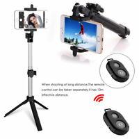 Bluetooth Fernbedienung ausziehbares Selfie Stick Einbeinstativ Stativ für Handy