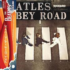 The Beatles ABBEY ROAD (ROCKBAND MIXES)  mini LP CD w/OBI Strip