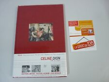 CELINE DION 1 FILLE & 4 TYPES . EDITION LIMITEE BOOK CD + DVD - NEUF