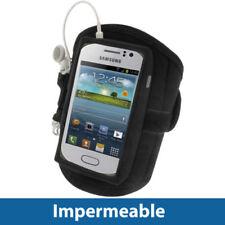Brazaletes negro Para Samsung Galaxy S para teléfonos móviles y PDAs