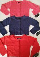 NAUTICA Baby Girl's Long Sleeve Knit Botton Up Sweater Cardigan Toddler Top Coat