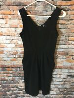 Charlotte Russe Black Dress Size S Sleeveless Pockets