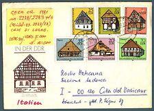 GERMANIA - DDR - 1981 - Costruzioni tradizionali ad intelaiatura di legno (2)