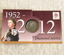 Consiglio Parrocchiale saddleworth QEII Giubileo di diamante 2012 prova crownmedal