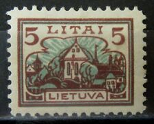 LITHUANIA 1923 Stamp - Mint MH -VF- r69e10799