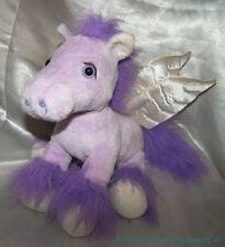"""Target Animal Adventure Plush Beanie 12"""" Lilac Purple Pegasus Pony Satiny Wings"""