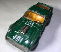Matchbox Superfast Boss Mustang Green Loose