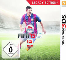 FIFA 15 Football Legacy Edition with Team Tactics for Nintendo 3DS
