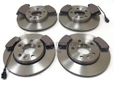 VW TRANSPORTER T5 2.0 TDi FRONT AND REAR MINTEX BRAKE DISCS & PADS (CHECK SIZES)