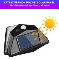 38LED Solar Motion Sensor Wall Lamp Outdoor Waterproof Yard Security Light